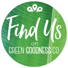 find us on Green Goodness Co